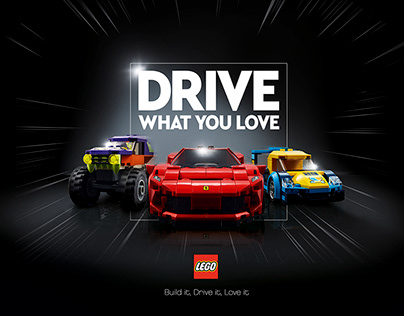 LEGO - Drive what you love