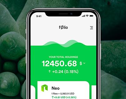 F0lio - Cryptocurrency Portfolio