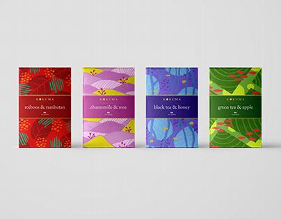 Kokuma Tea Packaging