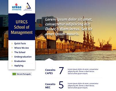 School of Management website