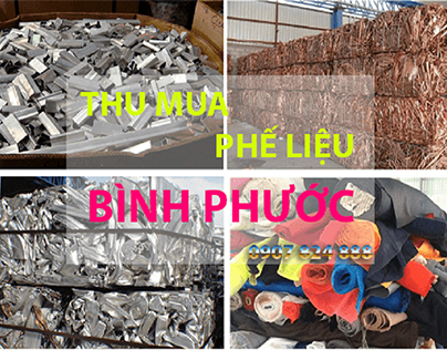 Thu mua phế liệu tại Bình Phước giá cao