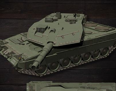 3D Design: Military Assets