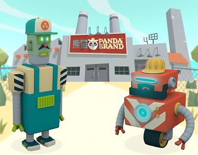 Robo Co-op: A Game Jam