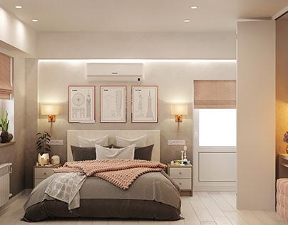 Квартира 100 кв.м.для молодой семьи с двумя детьми