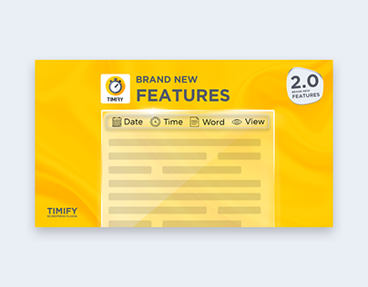 Brand NEW Features Youtube Thumbnail Design