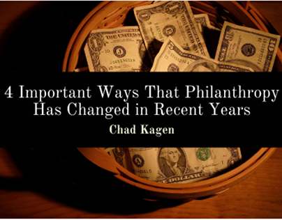 Important Ways That Philanthropy Has Changed