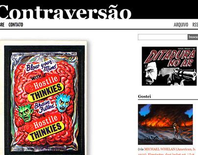 Editor-chefe e redator no blog Contraversão