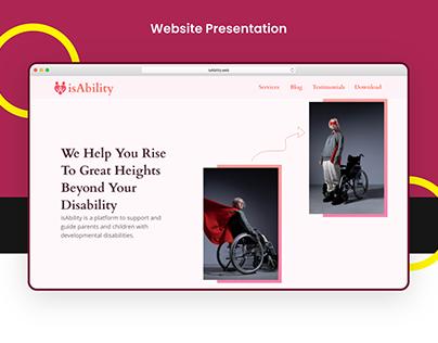 Website Presentation - isAbility