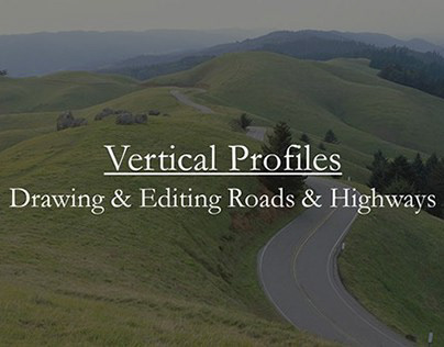 InfraWorks: Traditional Road Profile Update