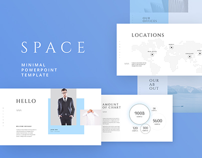 Free - Space Powerpoint & Keynote Template