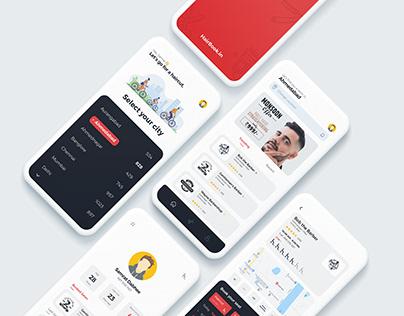 HairBook App UX & UI