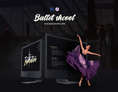 Web site ballet studio