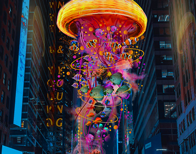 Electric Jellyfish in NYC
