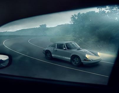 Porsche 911 Reimagined by Singer CGI