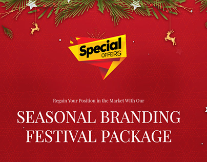 Branding Festival Package at EXTRA DISCOUNT!