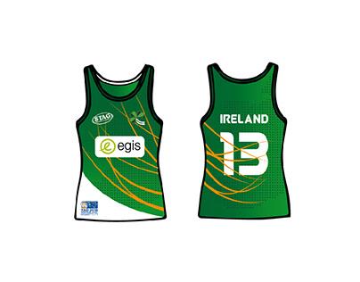 2018 Team Ireland Tag Rugby International kit
