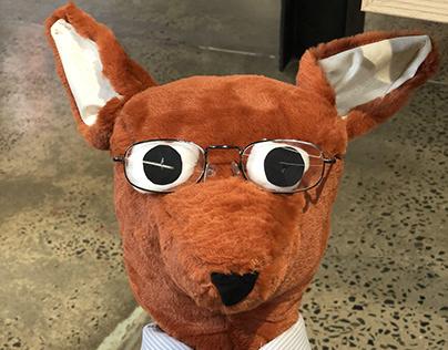 Taxidermist Fox