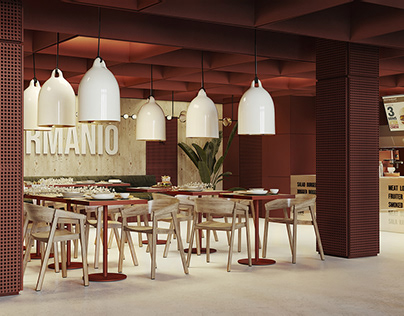 concept Design for GURMANIO Cafe.