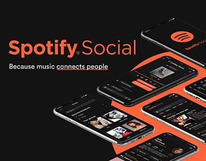 Spotify Social — Mobile App