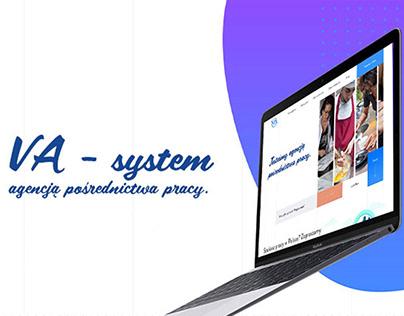 Дизайн сайта для компании помагающий трудоустройству