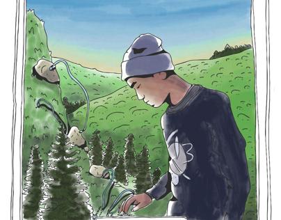 Andrew Huang Fan Art Portrait