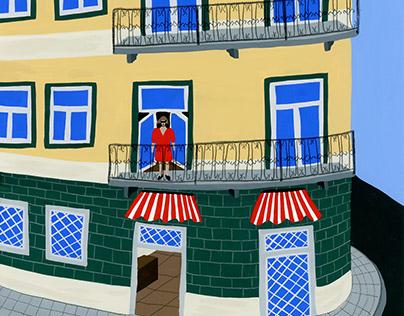 Girl in Lisbon