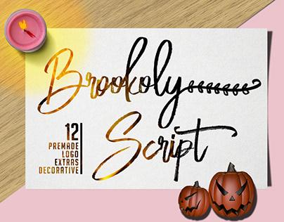 Brookoly - Handwritten Font