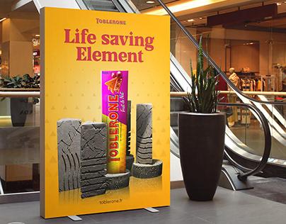 Toblerone AD Design (A4poster, billboard & sm poster)