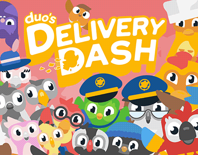 D&AD   Duo's Delivery Dash