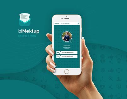 biMektup - App Design