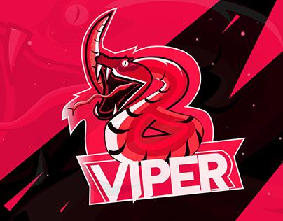 Deadly Viper Mascot Logo Design