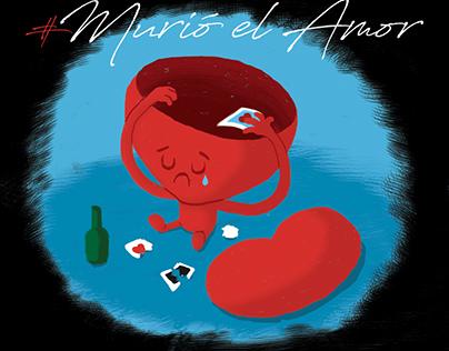 Historias de desamor ilustradas para Paola Jara