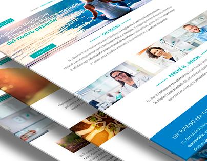 Website concept and design for Is...Dental