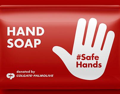WASH HANDS SAVE LIVES/COLGATE PLAMOLIVE