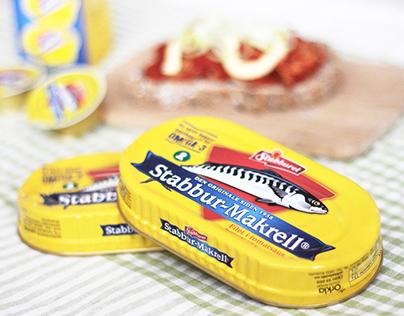 Stabbur-Makrell Packaging