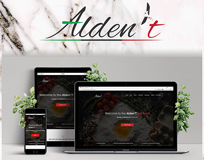 Alden't Website and Identity