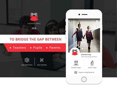 Smart schools & education system design: UI-UX