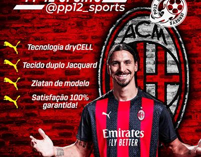 AC Milan Home 20/21 FEED