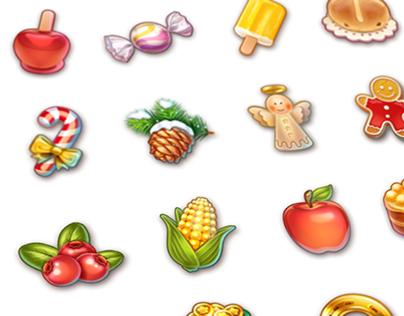 PI2 | Various icons