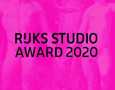 Rijksstudio Award 2020