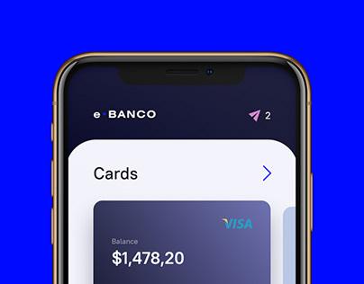 e•Banco. Banking App