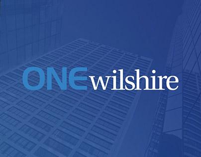 One Wilshire Identity Design