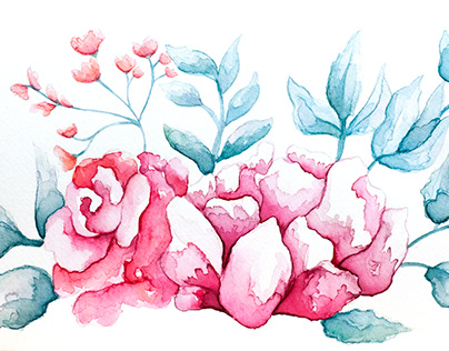 Wedding Invitation Roses