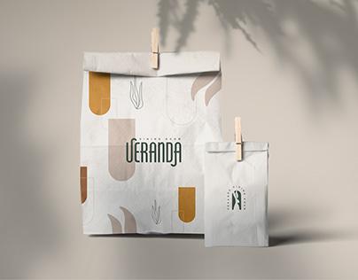 Re-branding project for restaurant Veranda