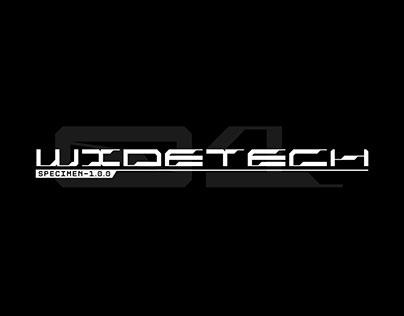 Widetech Font
