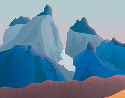 Patagonia Illustration