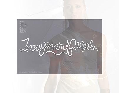 Imaginary People - Website