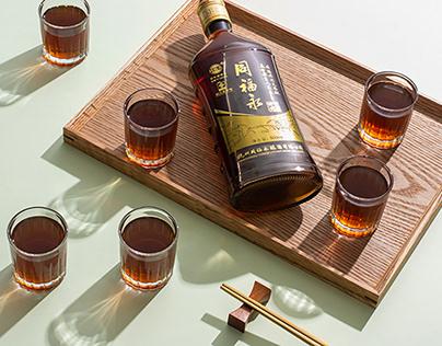 同福永X鹿马影像 黄酒饮品拍摄 电商美食摄影 生活场景