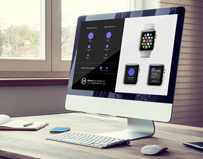 Apple Watch Icon Template 2.0