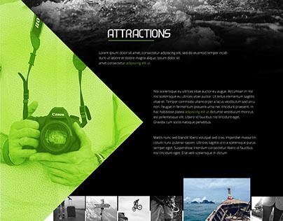 Adventure Agency web theme